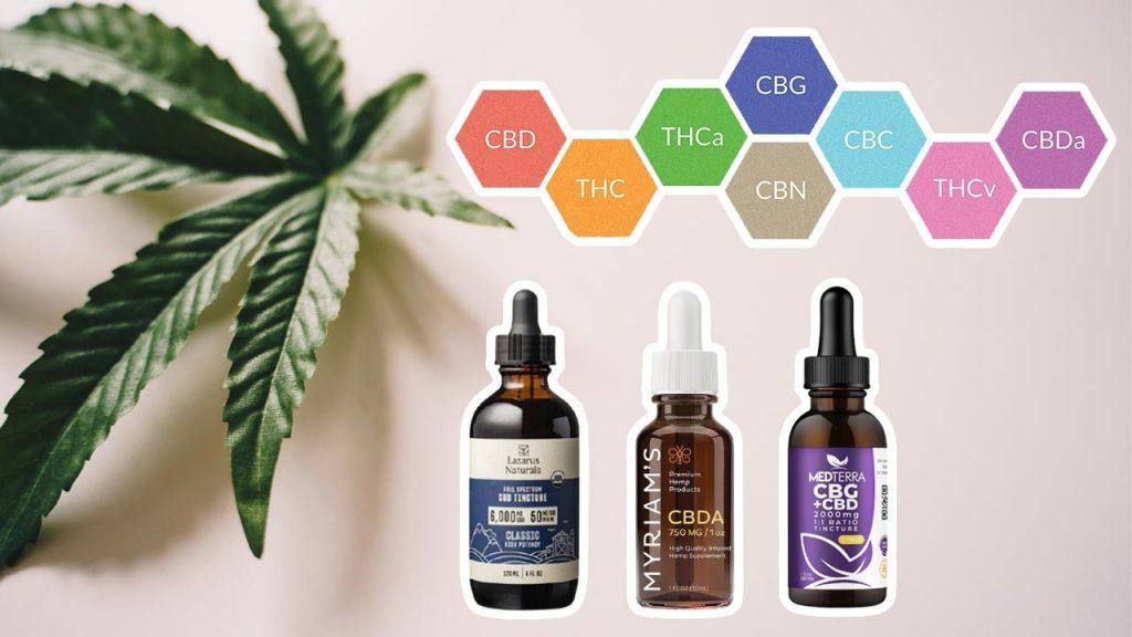 Cannabinoids: Differences Between CBD vs CBG, CBDA, CBN, and CBC