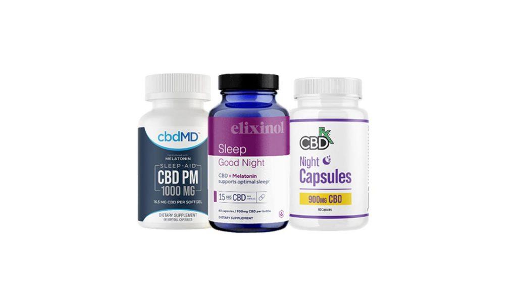 CBD Capsules For Sleep Support