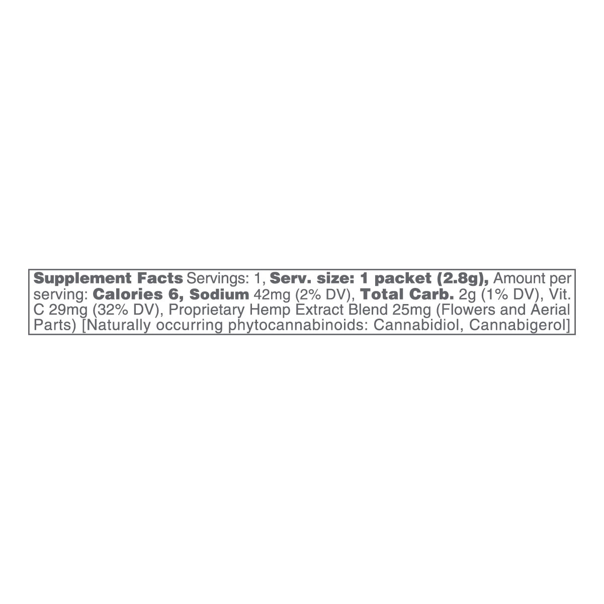 cbdMD, CBD Powdered Drink Mix, Broad Spectrum THC-Free, Fruit Punch, 10ct, 250mg CBD 2