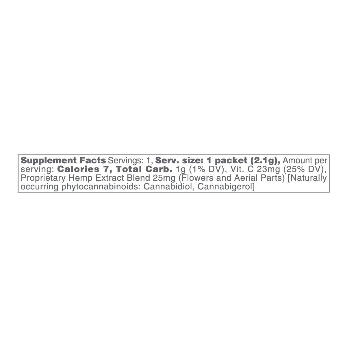 cbdMD, CBD Powdered Drink Mix, Broad Spectrum THC-Free, Kiwi Strawberry, 10ct, 250mg CBD 2