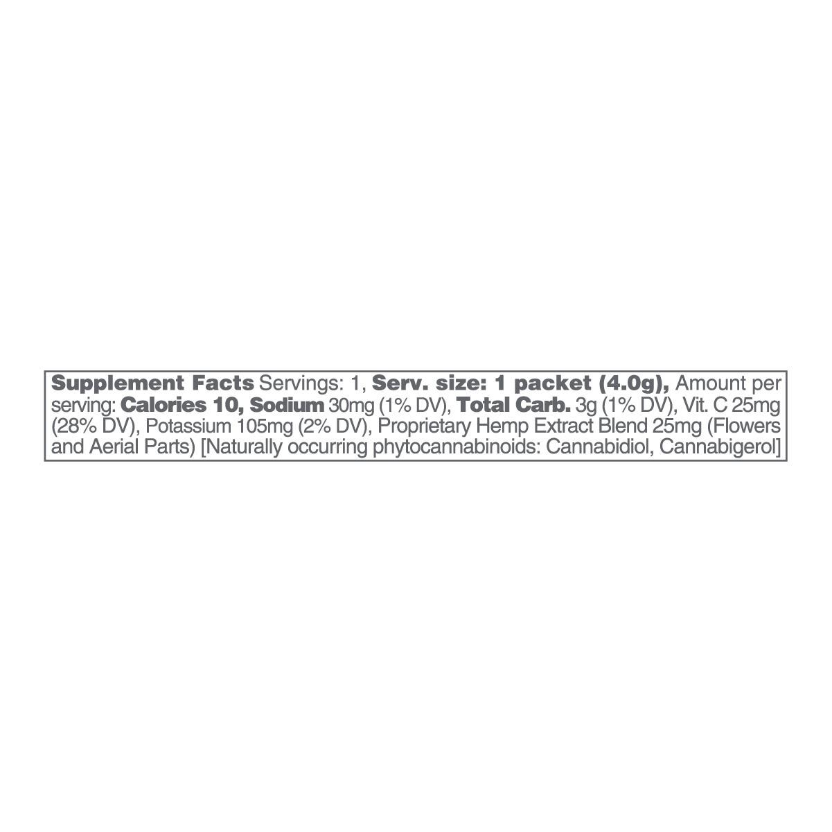 cbdMD, CBD Powdered Drink Mix, Broad Spectrum THC-Free, Lemonade, 10ct, 250mg CBD 2