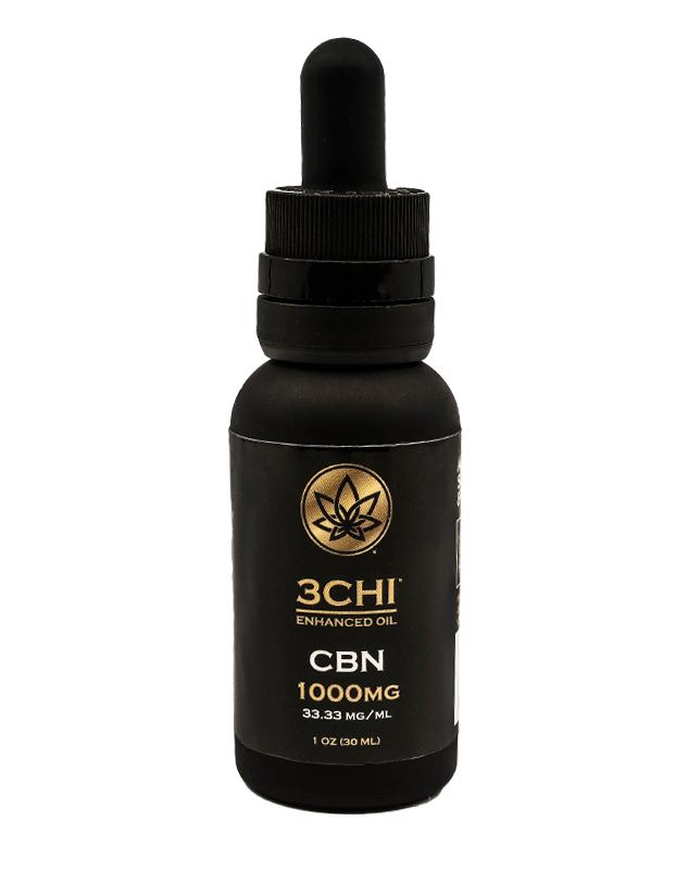 3Chi, CBN Oil Tincture, Broad Spectrum THC-Free, 1oz, 1000mg CBN 1