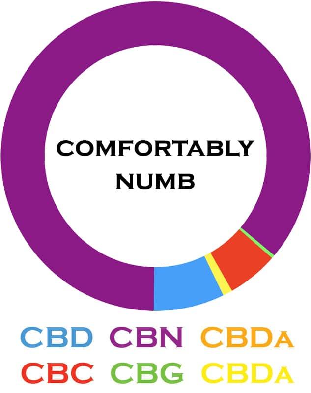3Chi, CBN Oil Tincture, Broad Spectrum THC-Free, 1oz, 1000mg CBN 2