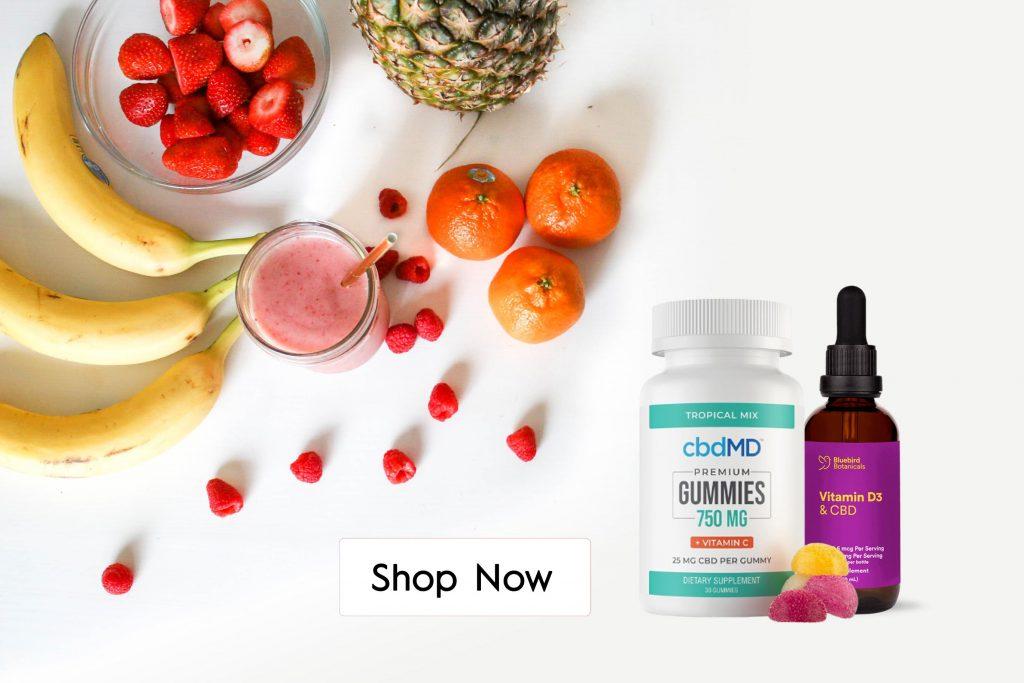 Buy CBD Oil with Vitamins